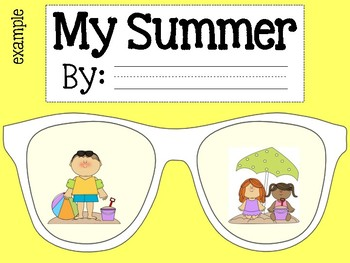 Back to School Project - Summer Sunglasses