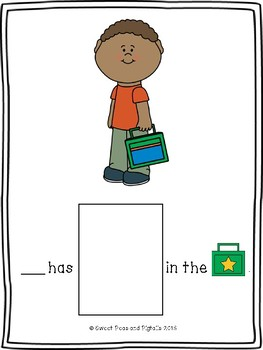 Back to School Pronouns (He, She, They)