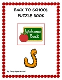 Back to School Puzzle Book