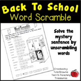 Back to School Puzzle FREE!!