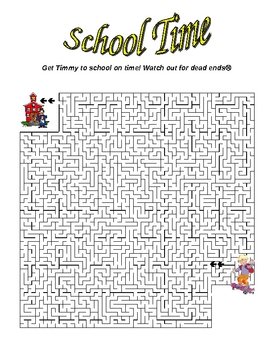 Back to School Puzzles