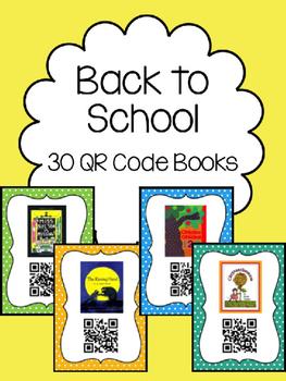 Back to School QR Code Books