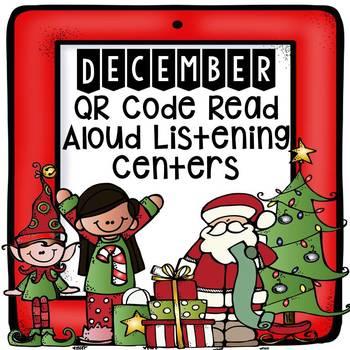 November QR Code Read Aloud Listening Centers Preview