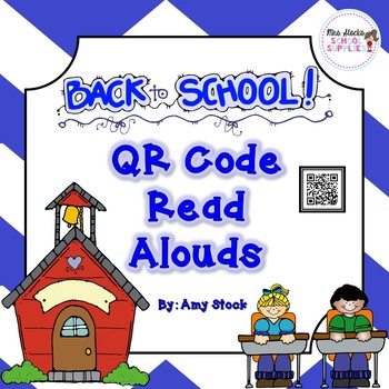 Back to School QR Code Read Alouds