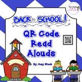 Back to School QR Code Read Alouds