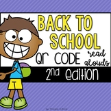 Back to School QR Code Read Alouds Set 2
