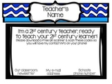 Back to School QR Code Welcome Sign - Editable!