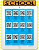 Stories about School QR Code Listening Center - FREEBIE!
