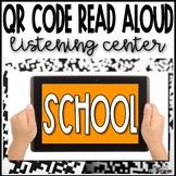 Stories about School QR Code Listening Center - FREEBIE!