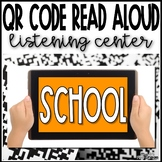 Stories about School QR Code Read Aloud Listening Center -