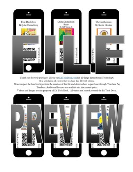 Back to School QR Codes- NO YOUTUBE- eBook Videos