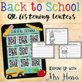 Back to School QR Listening Center Stations
