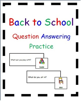 Back to School Question Answering Practice