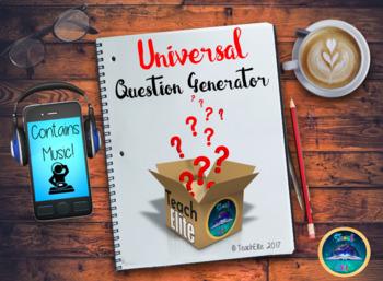 Back to School - Question Generator - Interactive!
