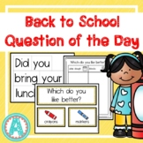 Back-to-School Question of the Day