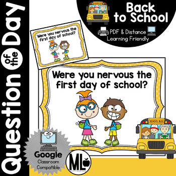 Back to School Question of the Day (August/September)