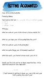 Back to School Questionnaires for Parents/Students and New