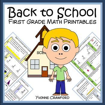 Back to School No Prep Common Core Math (1st grade)