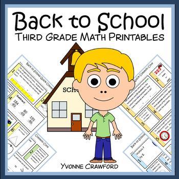 Back to School No Prep Common Core Math (3rd grade)