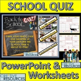 Back to School PowerPoint Quiz Lesson