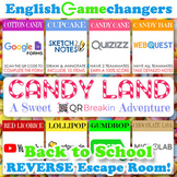 Back to School REVERSE Escape Room: Candy Land-Inspired Break IN to ANY Class!