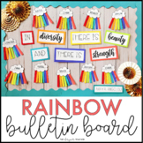 Back to School Rainbow Bulletin Board and Diversity Craft