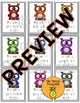 Back to School Rainbow Owl Welcome Tags for Students