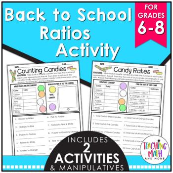 Back to School Ratios & Rates Activity