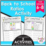Back to School Ratios & Rates Activity