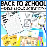 Back to School Read Aloud Activities