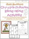 Back to School Read Aloud Activities - Kindergarten Activities - Chrysanthemum