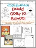 Back to School Read Aloud Activities - Kindergarten - David Goes to School
