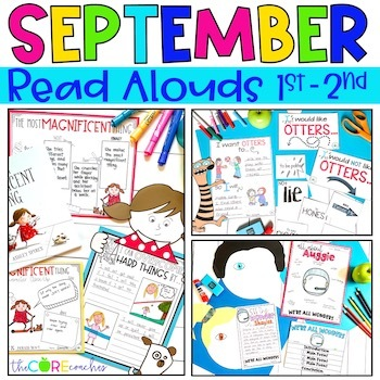 September Read Alouds Digital | Back to School | for Distance Learning