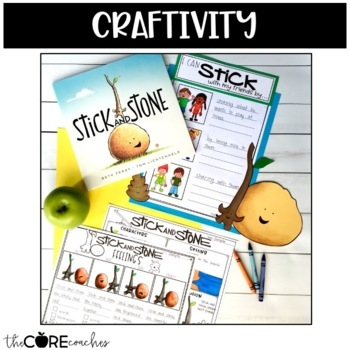 Stick and Stone Read-Aloud | Distance Learning | for Google Slides