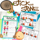 Stick and Stone: Interactive Read-Aloud Lesson Plans and A