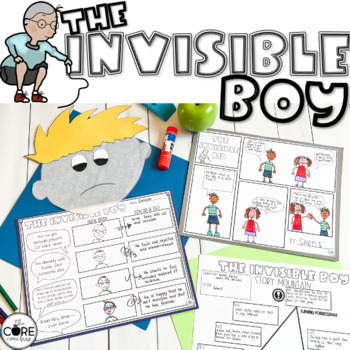 The Invisible Boy Read-Aloud | Distance Learning | for Google Slides | Seesaw
