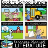 Back to School Read Aloud Book Activities Learning Through