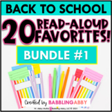 Back to School Read Aloud Bundle