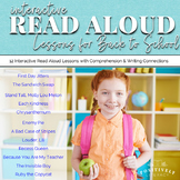 Back to School Read Aloud Books: Interactive Read Alouds