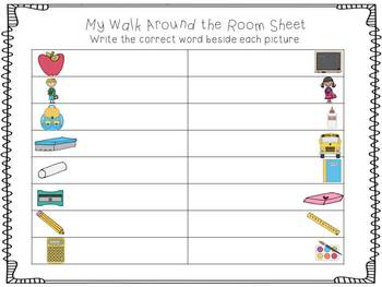 Back to School: Read and Write the Room