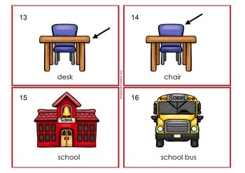 Back to School Read and Write the Room, differentiated