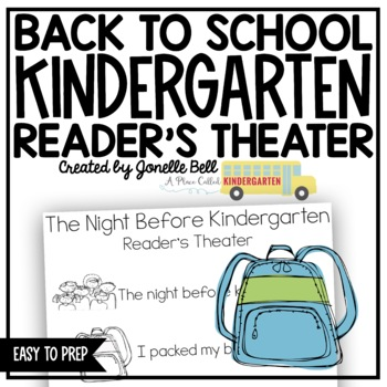 Back to School Reader's Theater