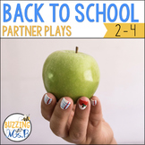 Back to School Reader's Theater: Partner Plays for Two Readers
