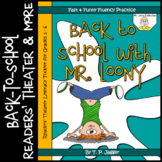 Back-to-School Readers' Theater Script & More - Back to School with Mr. Loony