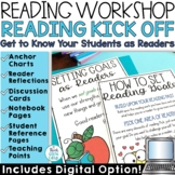 First Day of School Activities | Reading Workshop