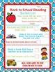 Back to School Reading Bucket List Printable