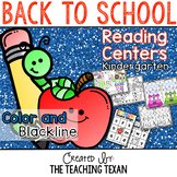 Back to School Reading Center Games and Activities