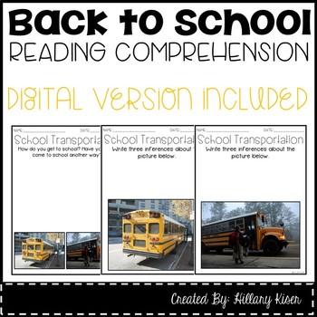 Leveled Text T: School Transportation