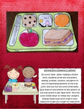 Back to School Reading Comprehension Craftivities to Use with Any Book!