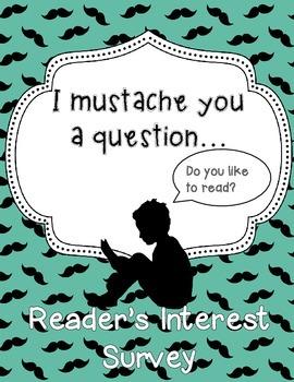 Back-to-School Reading Interest Survey